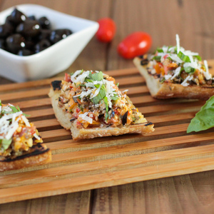 Bruschetta tapenade 1
